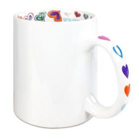 Wortwolke Tasse mit Windhund Motiv