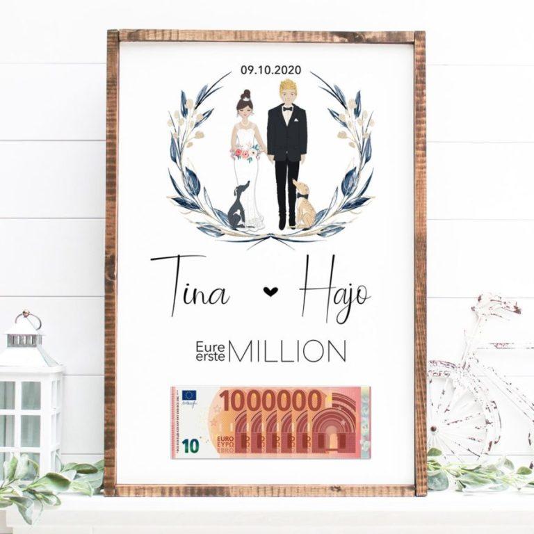 eure erste Million Geldgeschenk