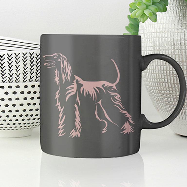 Tasse Afghanischer Windhund